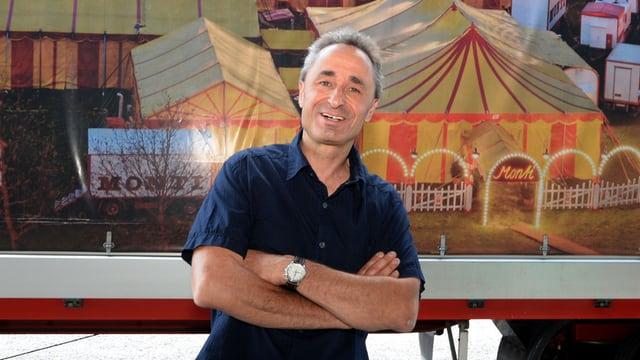 Circus Direktor Johannes Muntwyler