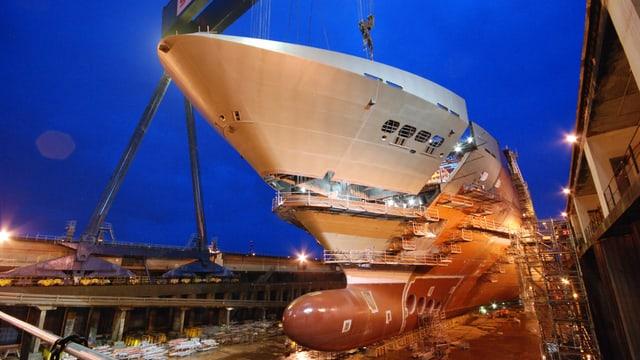 Georg Fischer beliefert auch Hersteller von grossen Kreuzfahrtschiffen.