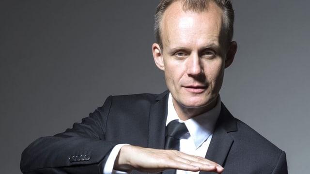 Der Kabarettist Max Uthoff