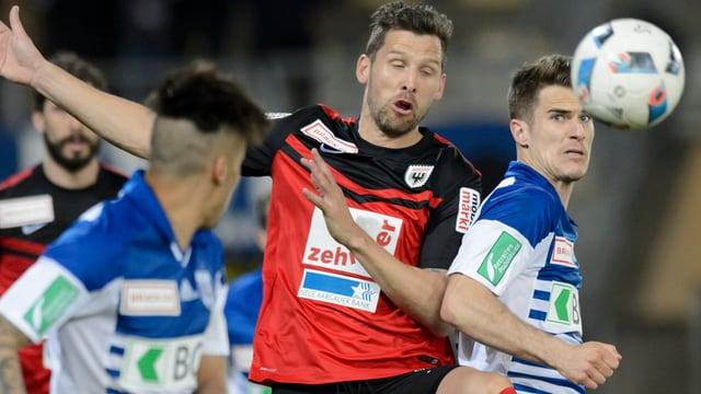 FC Aarau gegen FC Lausanne