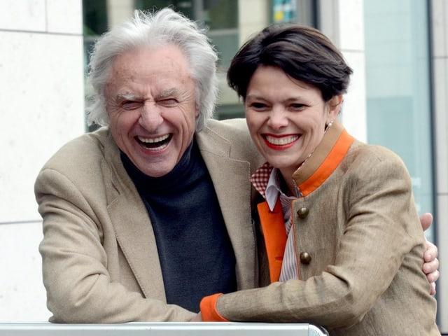 Emil und seine Frau Niccel Steinberger.