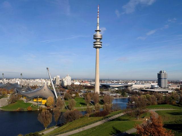 Der Olympiapark in München.