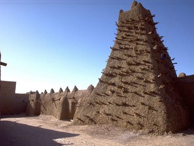 Mausoleum in Timbuktu.