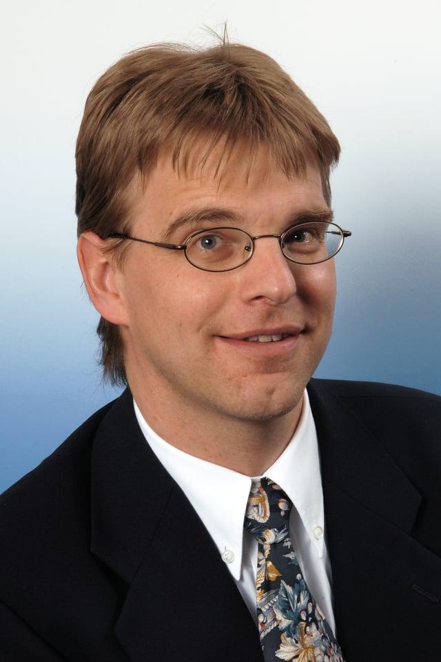 Bernhard Waldmann im Porträt.