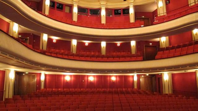 Das Stadttheater Schaffhausen.
