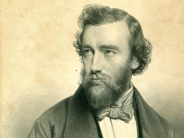 Porträt von Adolphe Sax.
