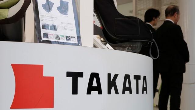 Logo da Takata.