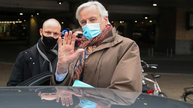 Der Chefunterhändler der EU Michel Barnier