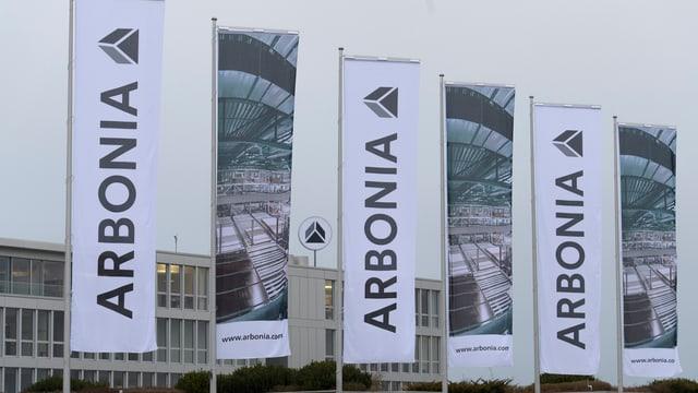 Arbonia-Flaggen