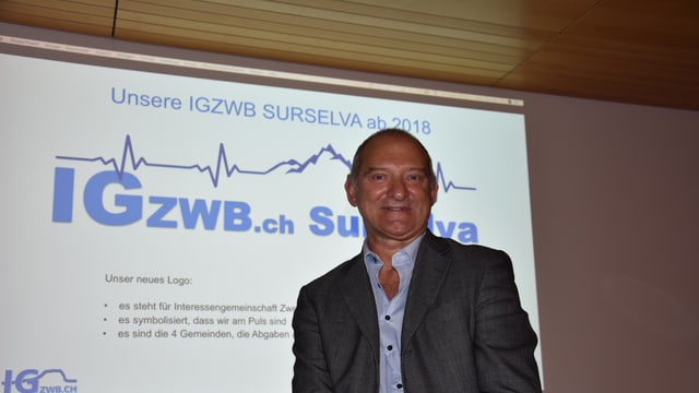 Ignaz Derungs, il president da la Gruppa d'interess possessurs d'abitaziuns secundaras Breil e conturn.