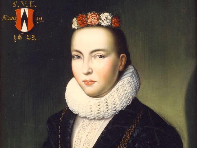 Altes Portraitbild.