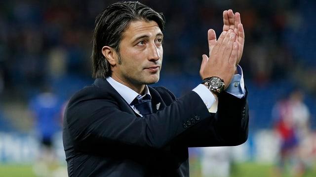 FCB-Coach Murat Yakin will den Schwung aus dem Cheslea-Spiel mit ins Wallis nehmen.