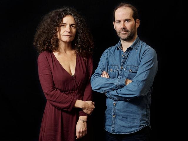 Autorin Valérie Igounet und Fotograf Vincent Jarousseau.