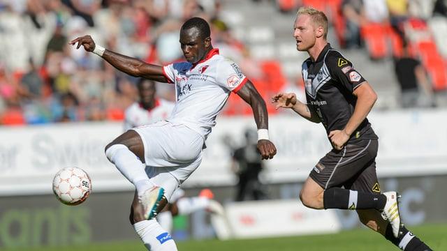 Der Sion-Stürmer blieb beim 3:0-Sieg für einmal ohne Torerfolg.