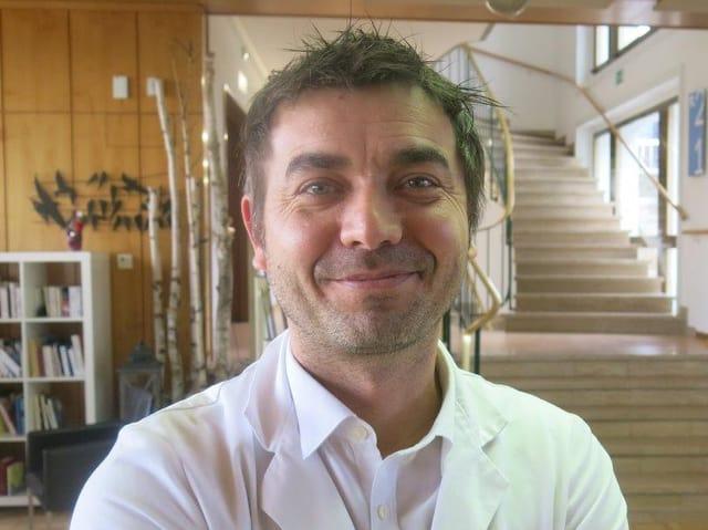 Boris Cantin, der leitende Arzt des Palliativzentrums.