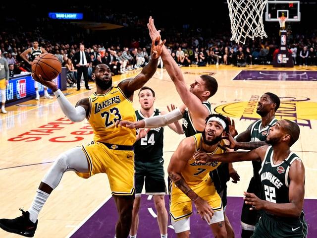 Ende Juli soll die NBA-Saison fortgesetzt werden.