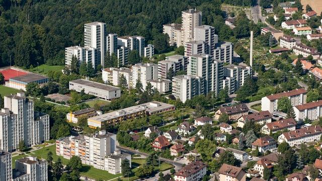 Blick auf Berns Westen.