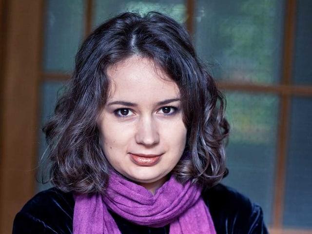 Ein Porträt von Patricia Kopatchinskaja.