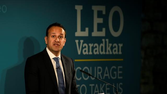 Der designierte neuer irische Premier Leo Varadkar.