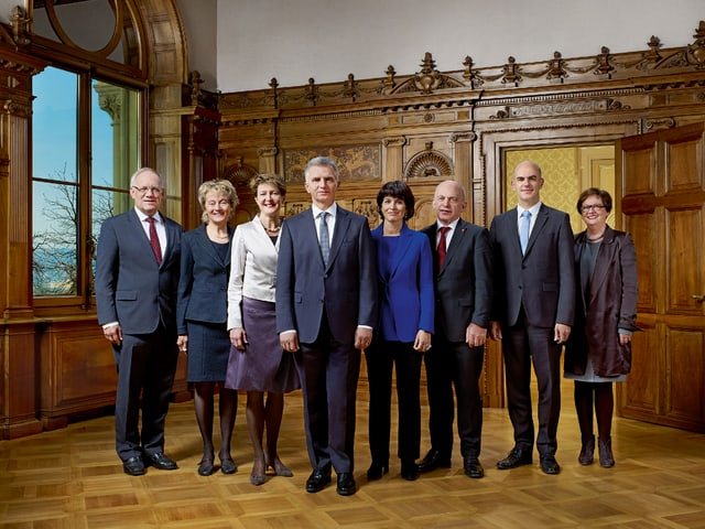 Bundesratsfoto 2014