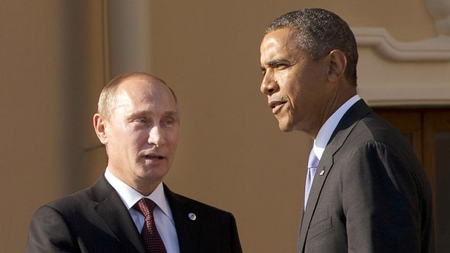 Wladimir Putin e Barack Obama