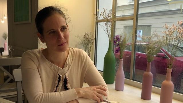 Julie Bächtold: Die Bernerin versucht aus beiden Kulturen das Beste mitzunehmen.