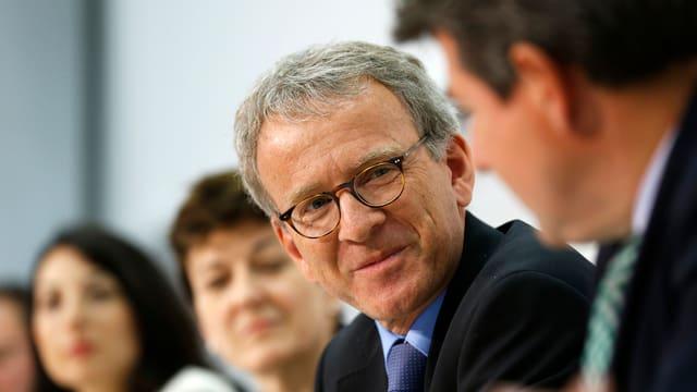Adrian Lobsiger in seiner Funktion als stv. fedpol-Direktor vor den Medien Bern.