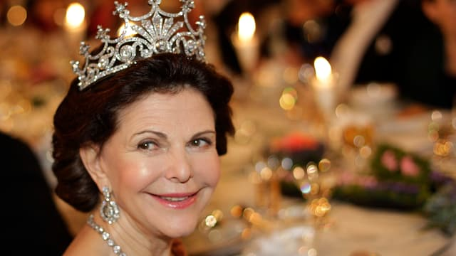 Königin Silvia von Schweden.
