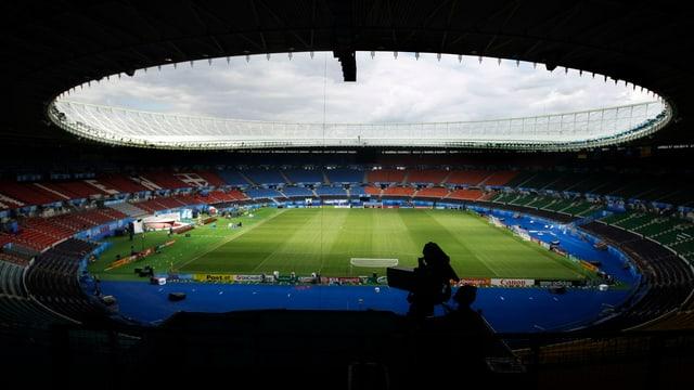 Totale auf ein Stadion