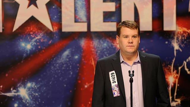 Corden als Potts auf der BVühne von «Britain's Got Talent»