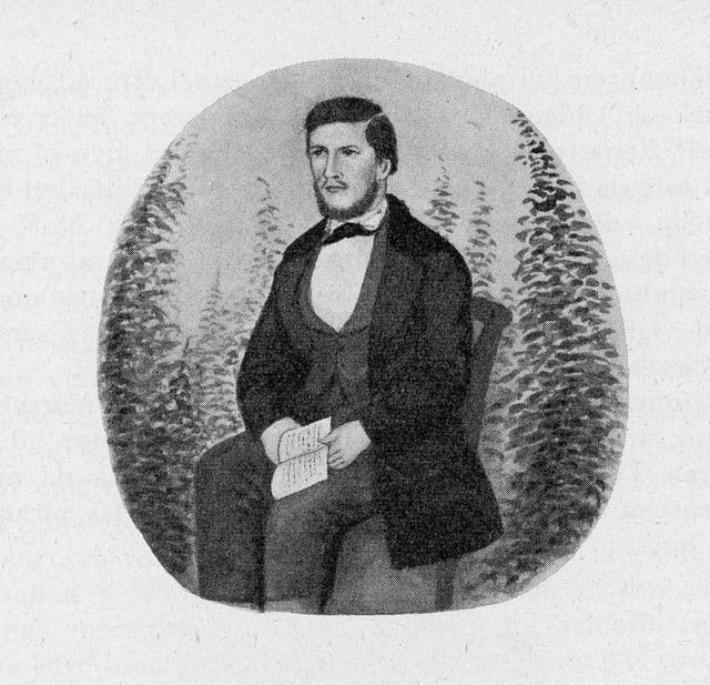Duno Joos (1834 - 1895) (autopurtret?)