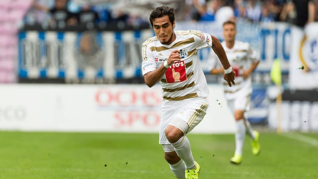 Dario Lezcano im Cupeinsatz in Genf.