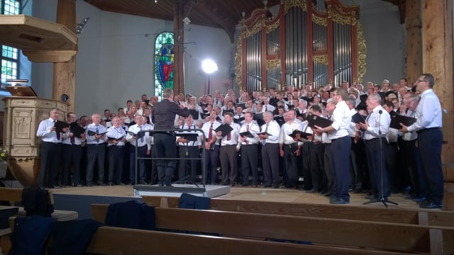 Impressiun dal concert rumantsch a Meiringen.