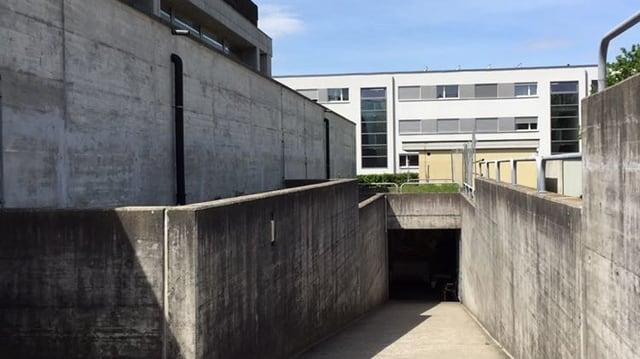 Eingang Zivilschutzanlage