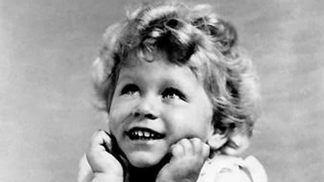 Porträt von Queen Elizabeth als Kind.