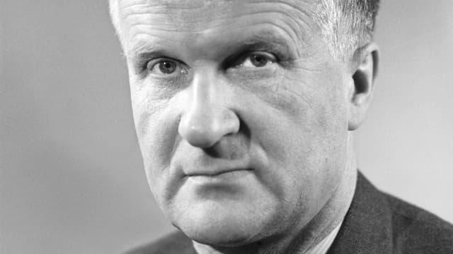 Hans Oprecht, der damalige Präsident der SP Schweiz.