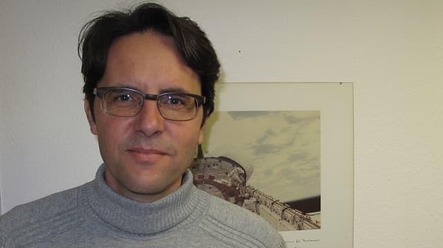 Markus Egli, Leiter des Kompetenzzentrum für biomedizinische Weltraumforschung in Hergiswil