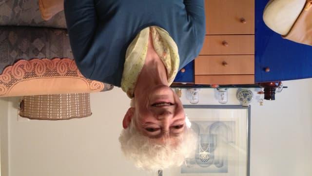 Irmgard Strasser in ihrer Wohnung in Ermatingen ist froh über die Aktion «2 Mal Weihnachten» des Schweizerischen Roten Kreuzes.