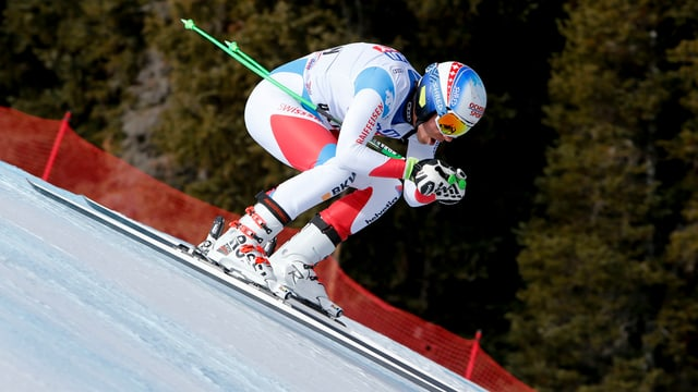 Carlo Janka ist in Aspen im 1. Training der schnellste Schweizer.