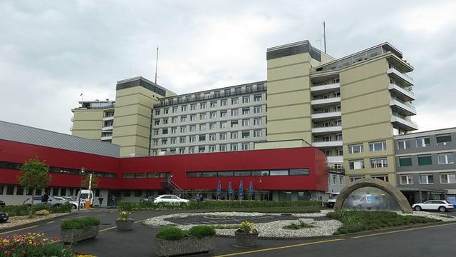 Gebäude Spital