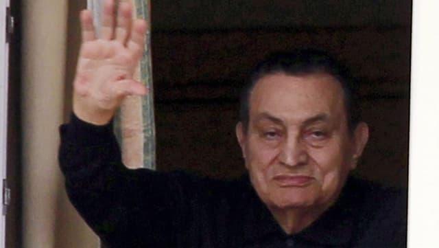 L'anteriur dictatur egipzian Husni Mubarak.