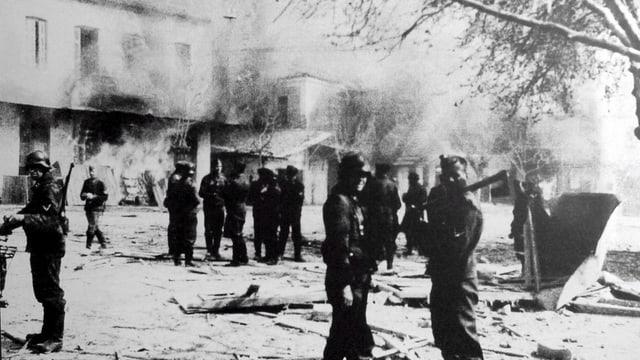 Distomo kurz nach dem Massaker 1944