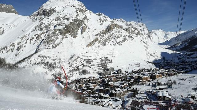 Riesenslalom-Rennen von Val dIsère nach Santa Caterina verlegt