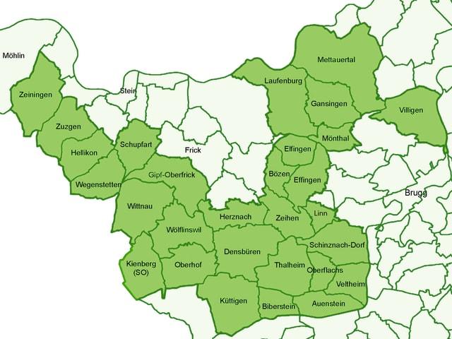 Der Jurapark erstreckt sich über dutzende Gemeinden.