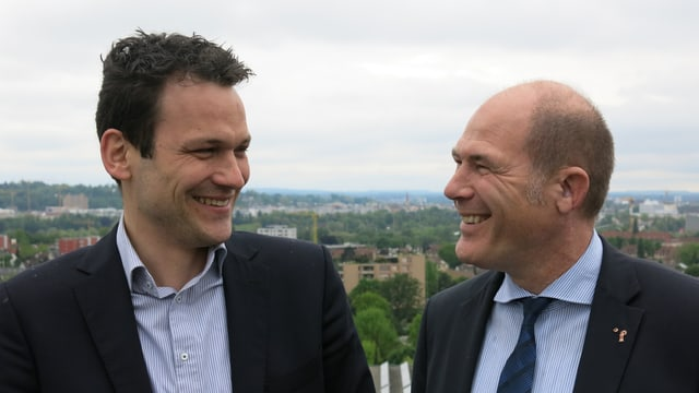 Thomas Jourdan und Anton Lauber
