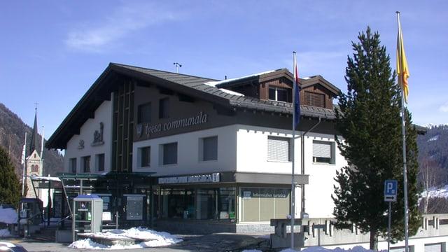 Il center communal Tujetsch a Sedrun