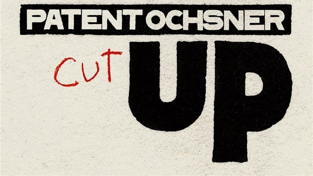 «Cut Up», das zehnte Studio-Album von Patent Ochsner, erscheint am 24. Mai 2019.