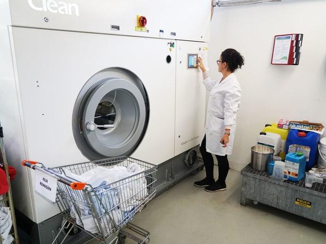 Riesen-Waschmaschine