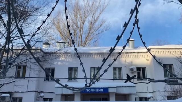 Polizeistation Chimki im Norden Moskaus