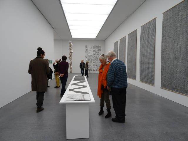 Vernissascha da l'exposiziun annuala dals artists e da las artistas grischunas.